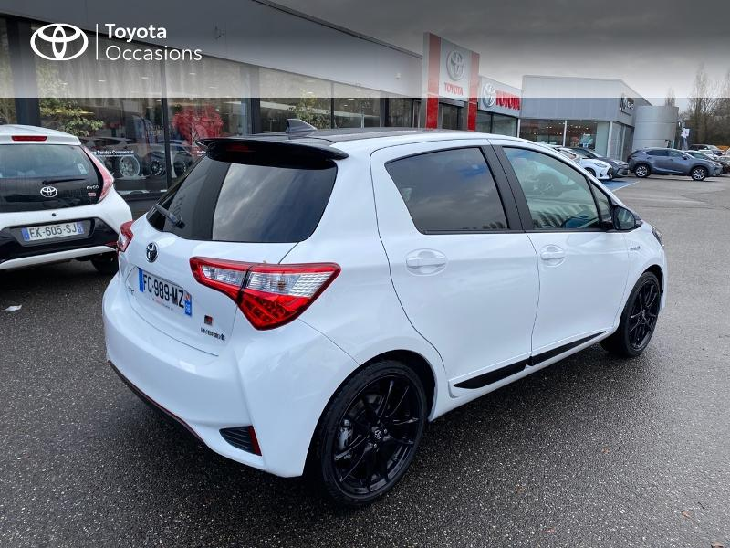 2020 Toyota Yaris - MULHOUSE ALSACE - Gamme Hybride Citadines BLANC PUR 100h GR SPORT 5p RC19 - TOYS MOTORS MULHOUSE