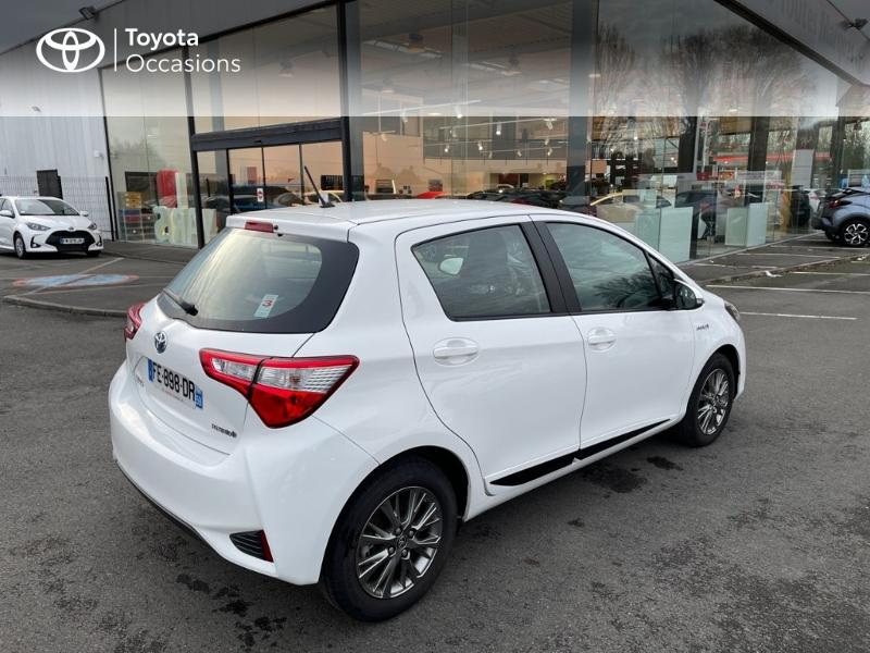 2019 Toyota Yaris - ENGLOS NORD-PAS-DE-CALAIS - Gamme Hybride Citadines BLANC PUR 100h Dynamic 5p MY19 - TOYS MOTORS ENGLOS