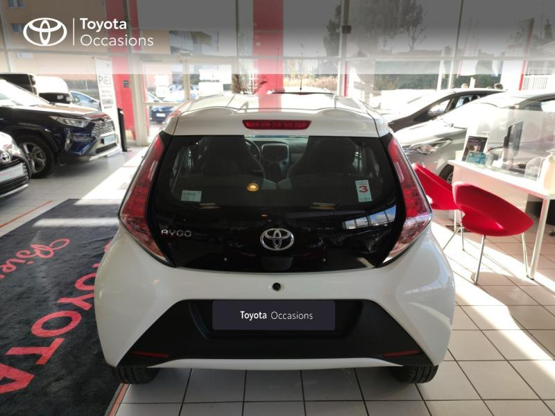 2017 Toyota Aygo - MONTPELLIER Languedoc-Roussillon - Citadines Blanc 1.0 VVT-i 69ch x-play 5p - ADL - Auto Distribution Languedocienne - Montpellier