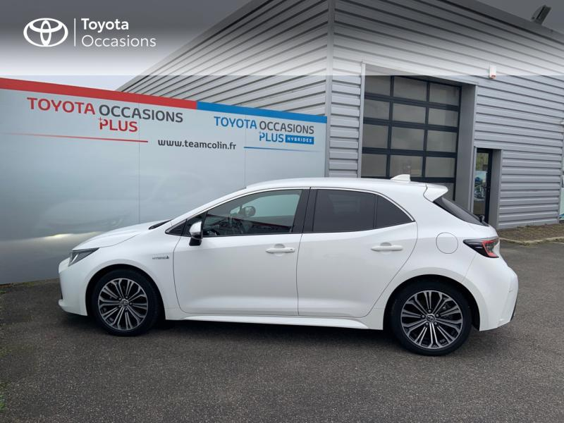 2019 Toyota Corolla - PROVINS Ile-de France - Gamme Hybride Blanc Pur 184h Design - VALLEE SA Provins