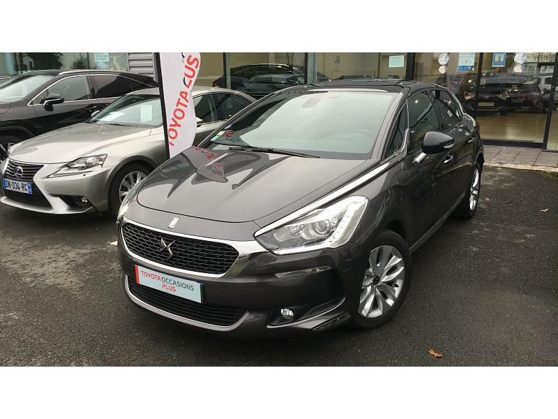 2017 Ds Automobiles DS 5 - CHAMPAGNE AU MONT D OR RHONE ALPES - Gris platinium THP 165ch So Chic S&S EAT6 - SIVAM CHAMPAGNE