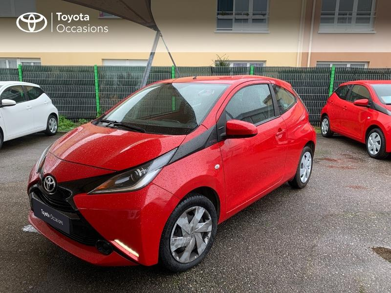 2017 Toyota Aygo - LAXOU LORRAINE - Citadines ROUGE 1.0 VVT-i 69ch x-red 3p - TOYS MOTORS LAXOU