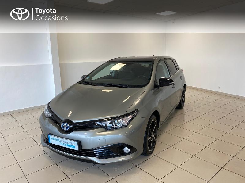 2018 Toyota Auris - BASSUSSARRY AQUITAINE - Gamme Hybride GRIS C HSD 136h Collection RC18 - MAKILA AUTO Bassussarry