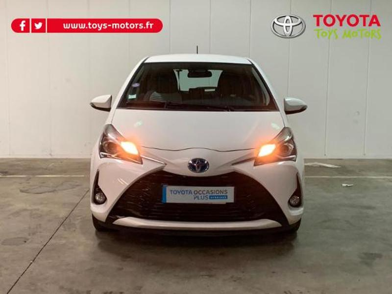 2018 Toyota Yaris - ENGLOS NORD-PAS-DE-CALAIS - Gamme Hybride Citadines BLANCHE 100h Dynamic 5p - TOYS MOTORS ENGLOS