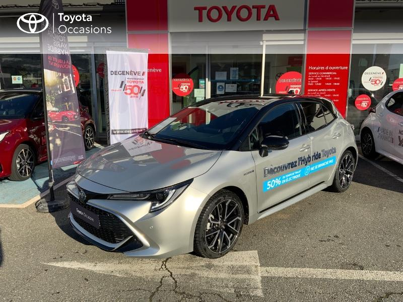 2021 Toyota Corolla - SALLANCHES RHONE ALPES - Gamme Hybride BI TON GRIS ARGENT 122h Collection MY21 - TOYOTA DEGENEVE SALLANCHES