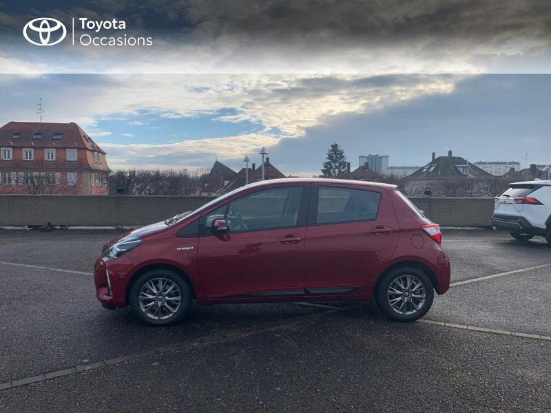 2019 Toyota Yaris - STRASBOURG ALSACE - Gamme Hybride Citadines ROUGE ALLURE 100h Dynamic 5p MY19 - TOYS MOTORS STRASBOURG
