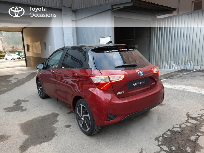 2019 Toyota Yaris - SISTERON CEDEX PACA - Gamme Hybride Citadines rouge 100h Collection 5p MY19 - ALPES SUD AUTOS Sisteron