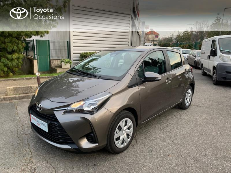2020 Toyota Yaris - CRETEIL Île-de-France - Citadines Gris Dune 70 VVT-i France Connect 5p RC19 - TEAM TOY 94 CRÉTEIL