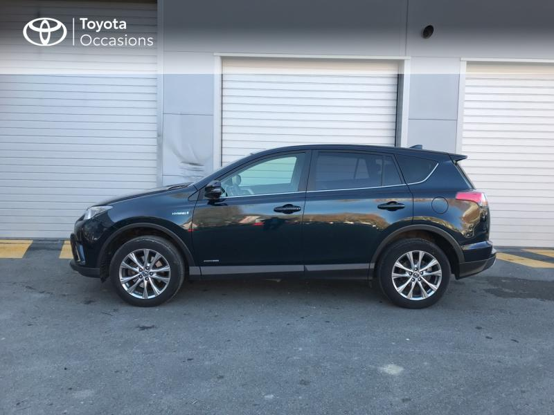 2017 Toyota RAV4 - EPERNAY Champagne Ardennes - Gamme Hybride Noir Cobalt 197 Hybride Dynamic Edition AWD CVT - TTR AUTOMOBILES EPERNAY