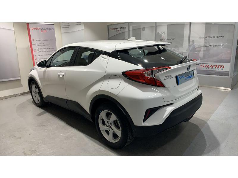 2019 Toyota C-HR - PARIS Ile-de France - Gamme Hybride BLANC PUR 122h Dynamic Business 2WD E-CVT RC18 - SIVAM PARIS