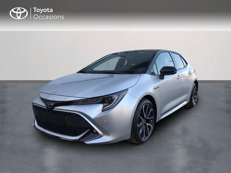 2020 Toyota Corolla - EPERNAY Champagne Ardennes - Gamme Hybride Gris Argent Bi-ton 184h Collection MY20 8cv - TTR AUTOMOBILES EPERNAY