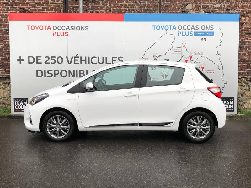 2018 Toyota Yaris - VIRY CHATILLON Ile-de France - Gamme Hybride Citadines Blanc Pur 100h Dynamic 5p MY19 - TEAM TOY 91 Viry Chatillon