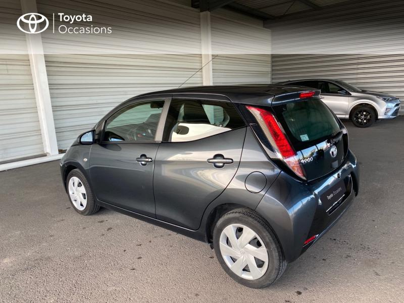 2018 Toyota AYGO - BARBEREY SAINT SULPICE Champagne-Ardenne - Citadines Gris Eclipse 1.0 VVT-i 69ch x-play 5p - VALLEE SA Barberey Saint Sulpice