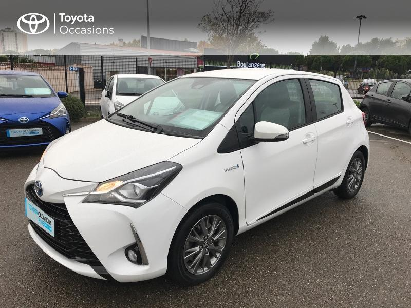 2018 Toyota Yaris - NIMES Languedoc-Roussillon - Gamme Hybride Citadines BLANC PUR 100h Dynamic 5p RC18 - GARAGE VEYRUNES