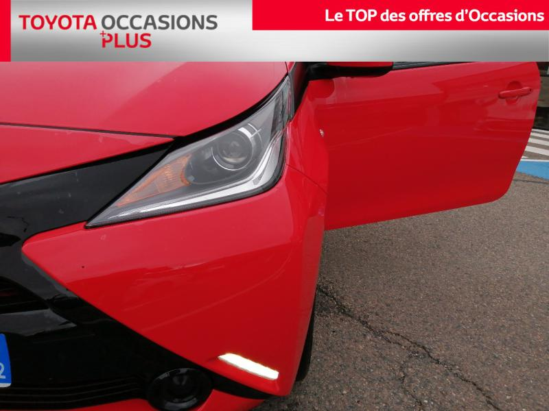 2017 Toyota Aygo - LE COTEAU RHONE ALPES - Citadines Rouge 1.0 VVT-i 69ch x-red 3p - LOIRE ALLIANCE MOTORS