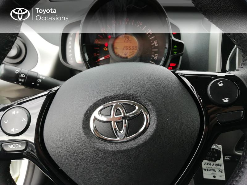 2017 Toyota Aygo - AUXERRE BOURGOGNE - Citadines Blanc 1.0 VVT-i 69ch x-play 5p - FOUCHER Auxerre