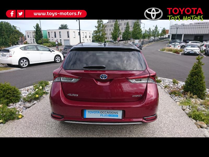 2018 Toyota Auris - VALENCIENNES NORD-PAS-DE-CALAIS - Gamme Hybride ROUGE HSD 136h Collection RC18 - TOYS MOTORS VALENCIENNES