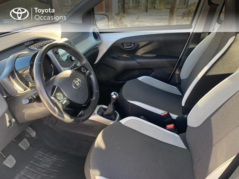 2017 Toyota AYGO - TOULON PACA - Citadines BLANC PUR 1.0 VVT-i 69ch x-play 5p - TOULON DIFFUSION AUTO