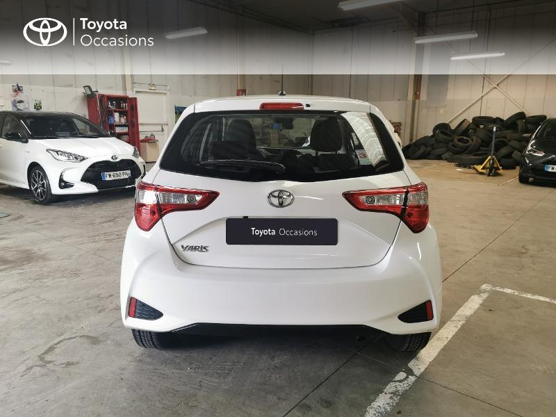 2019 Toyota Yaris - ABBEVILLE PICARDIE - Citadines BLANC PUR 110 VVT-i France Connect 5p RC19 - TOYS MOTORS ABBEVILLE