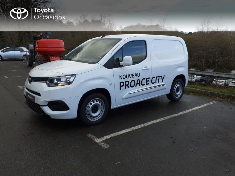 2020 Toyota PROACE CITY - LANESTER BRETAGNE - Blanc Medium 100 D-4D Business - ALTIS Lorient