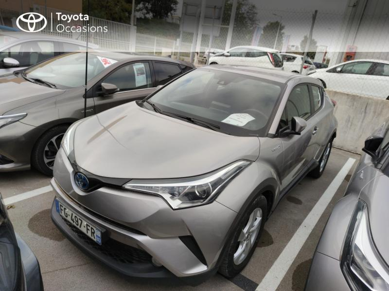 2019 Toyota C-HR - MONTPELLIER Languedoc-Roussillon - Gamme Hybride Gris Platinium 122h Dynamic Business 2WD E-CVT RC18 - ADL - Auto Distribution Languedocienne - Montpellier