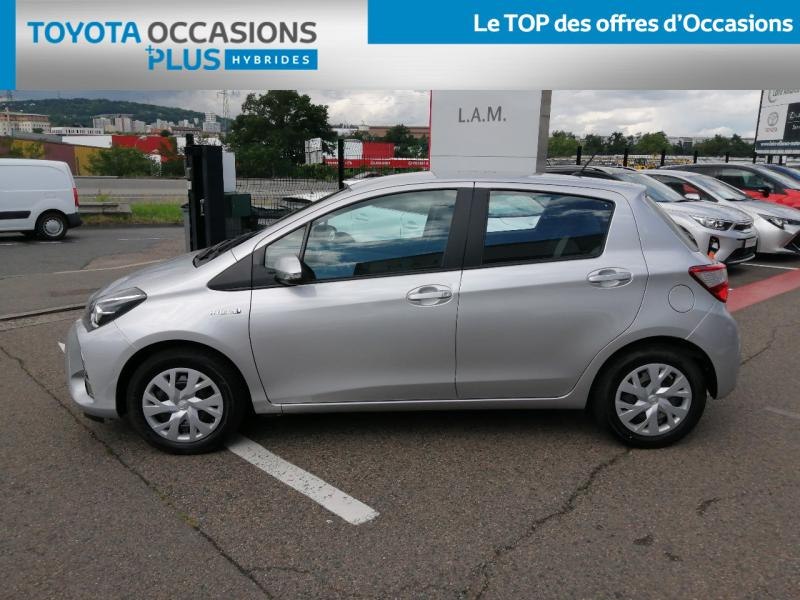 2019 Toyota Yaris - SAINT-ETIENNE RHONE ALPES - Gamme Hybride Citadines Gris Aluminium 100h France Business 5p MY19 - LOIRE ALLIANCE MOTORS SAINT-ETIENNE