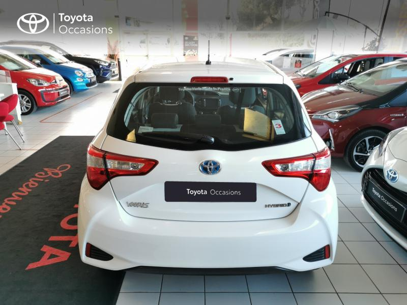 2017 Toyota Yaris - MONTPELLIER Languedoc-Roussillon - Gamme Hybride Citadines Blanc 100h Dynamic 5p RC18 - ADL - Auto Distribution Languedocienne - Montpellier