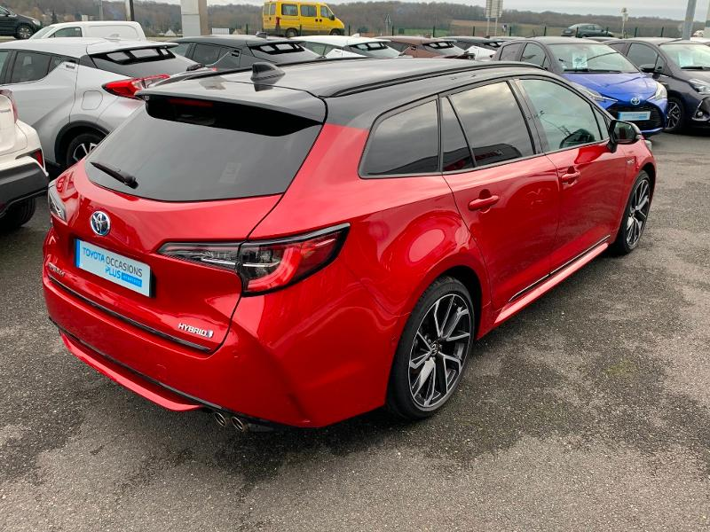 2019 Toyota Corolla Touring Sports - GISORS Haute-Normandie - Gamme Hybride Rouge Métal 180h Collection - AUTOMOBILES VICTORIA MOTORS Gisors