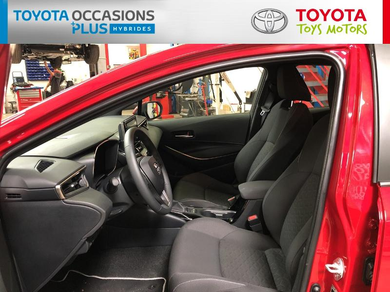 2020 Toyota Corolla - PERRUSSON - Gamme Hybride ROUGE INTENSE 122h Dynamic MY20 - TOYS MOTORS LOCHES