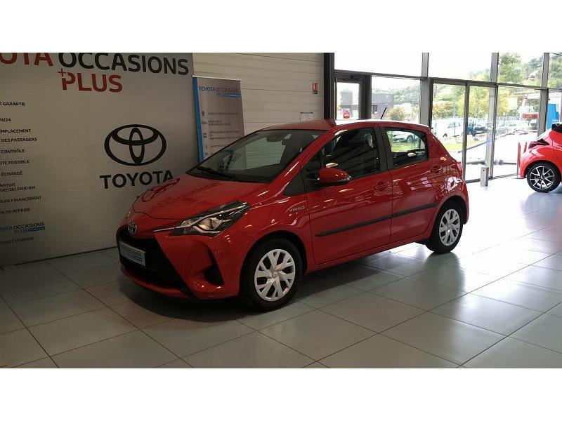 2017 Toyota Yaris - GIVORS RHONE ALPES - Gamme Hybride Citadines ROUGE CHILIEN 100h France 5p - SIVAM GIVORS
