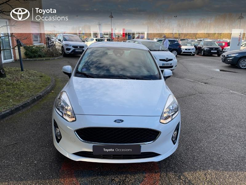 2018 Ford Fiesta - BOURGOIN JALLIEU RHONE ALPES - Citadines BLANC 1.0 EcoBoost 100ch Stop&Start Trend 3p Euro6.2 - BJ MOTORS