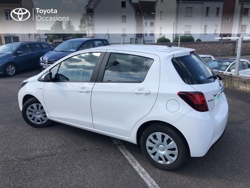 2016 Toyota Yaris - HORBOURG WIHR ALSACE - Gamme Hybride Citadines BLANC PUR HSD 100h Dynamic 5p - TOYS MOTORS COLMAR