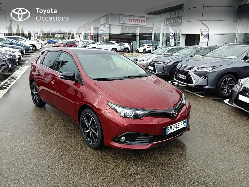 2017 Toyota Auris - MONTFAVET CEDEX PACA - Rouge Allure bi-ton Toit Noir 1.2 Turbo 116ch Collection - VDA Montfavet