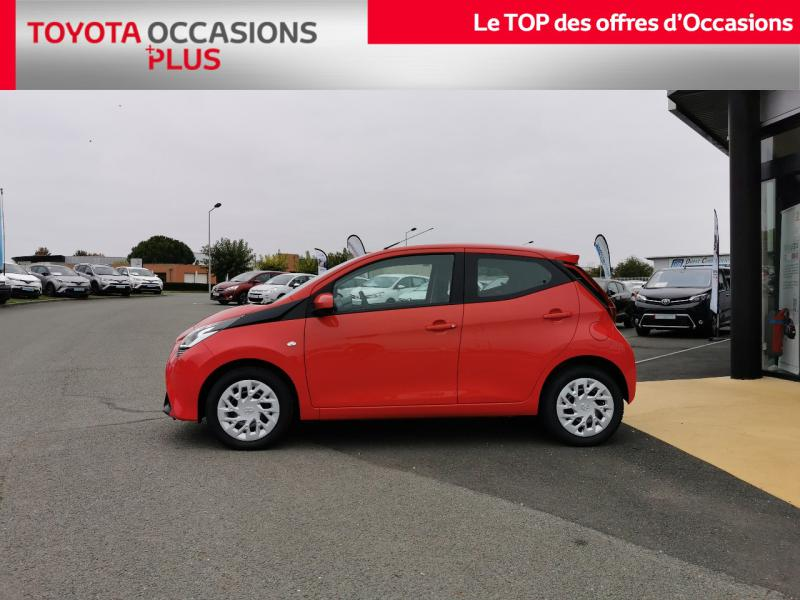 2020 Toyota Aygo - POITIERS POITOU-CHARENTE - Citadines Rouge Chilien 1.0 VVT-i 72ch x-play 5p MY20 - SNDA Poitiers
